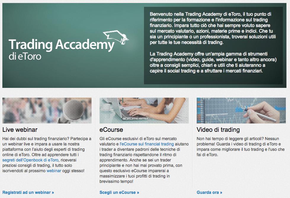 etoro trading academy