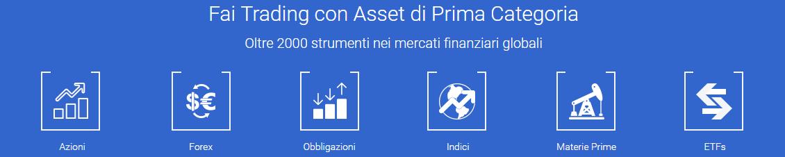 trade.com asset disponibili