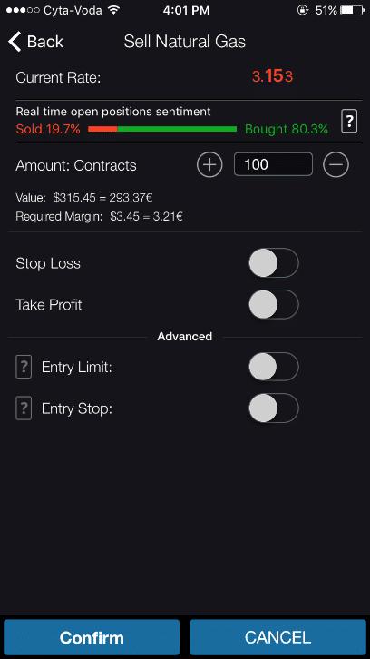 trade.com piattaforma mobile