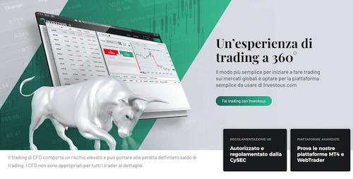 Investous piattaforma di trading